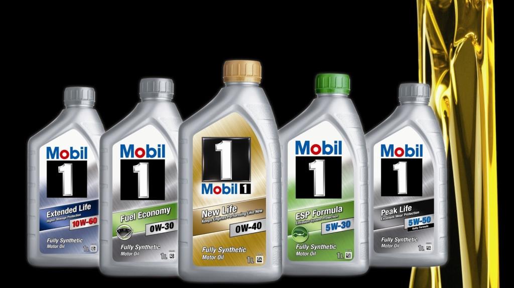 Akce na oleje Mobil1