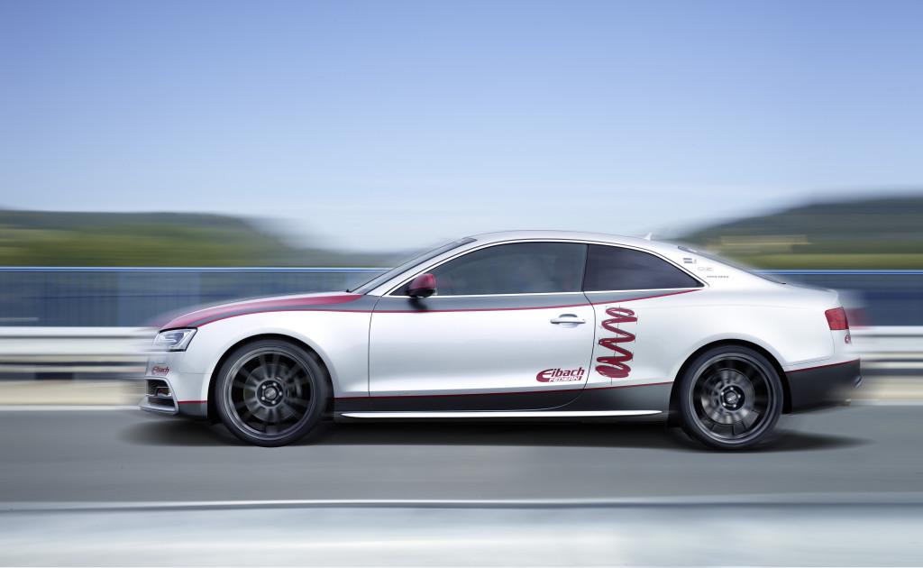 Eibach Audi S5 side