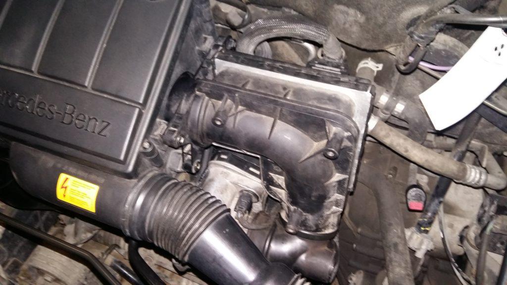 Oprava váhy vzduchu na Mercedes W168